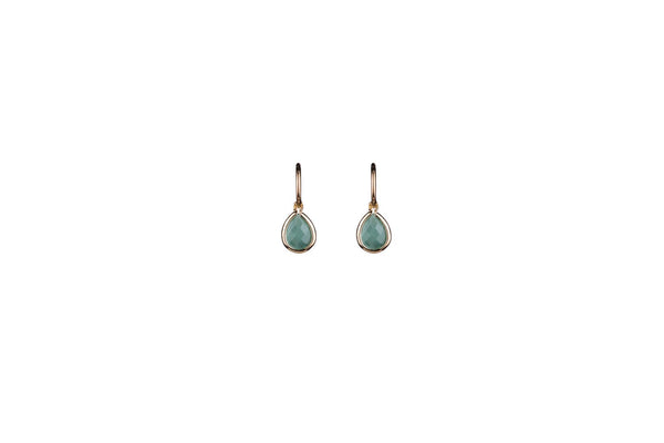 Aventurine Teardrop Earrings