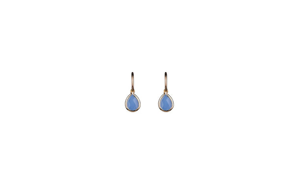 Angelite Teardrop Earrings