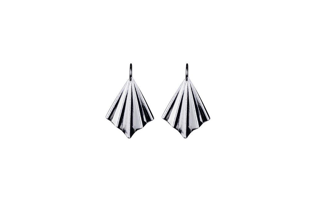 Silver Veil Earrings