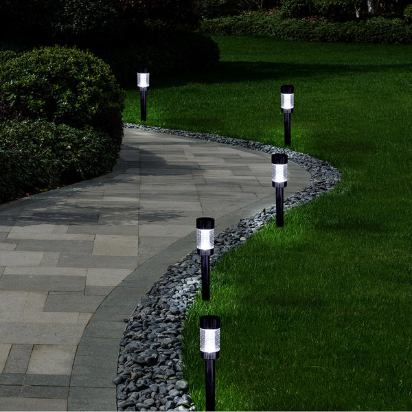 HAMILTON SOLAR POWERED GARDEN PATHWAY LAMPS