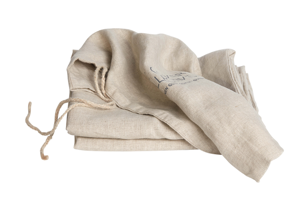 French Linen Valance - Natural