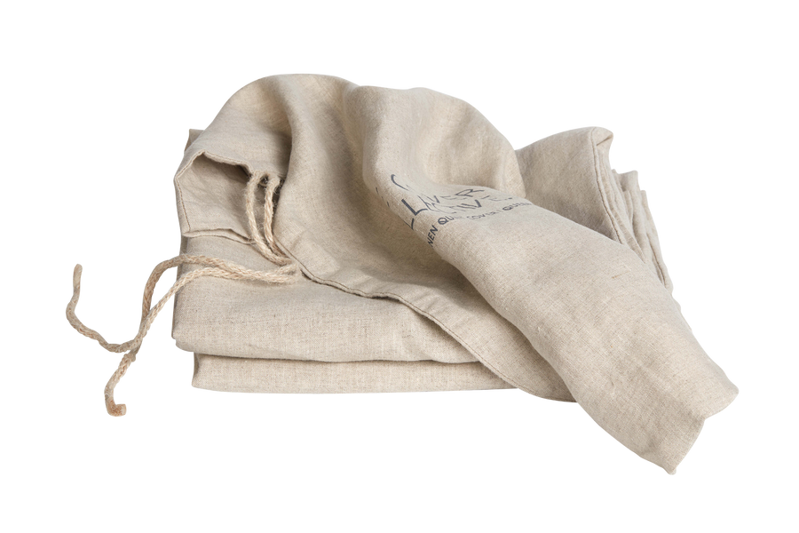 French Linen Fitted Sheet - Natural