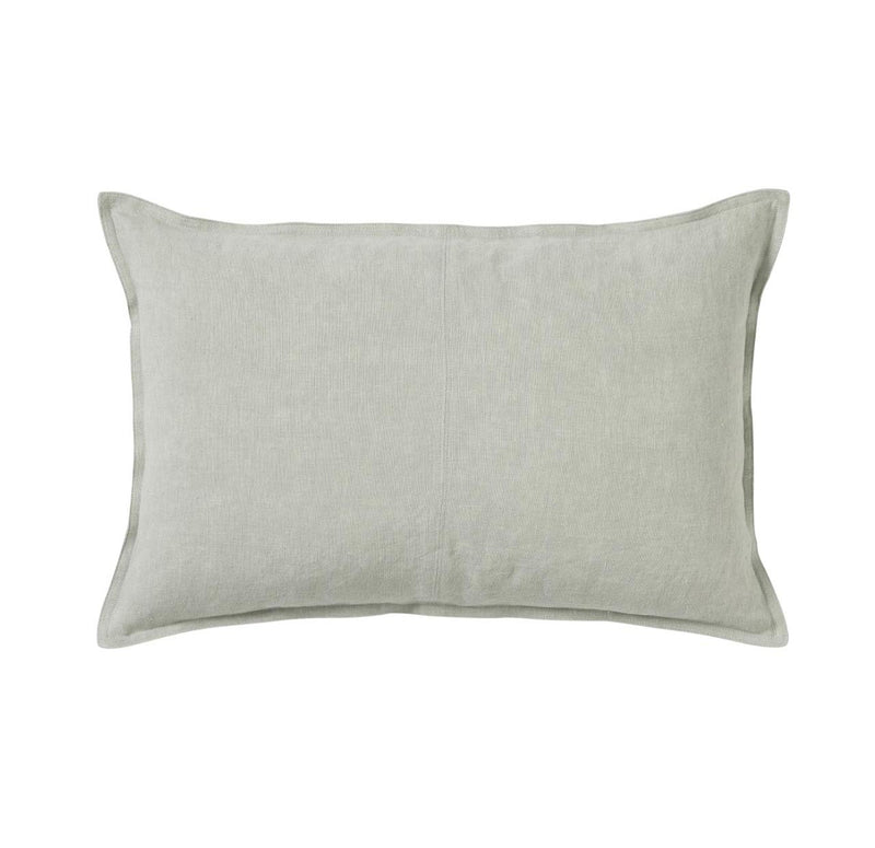Linen Cushion - Sage Lumbar