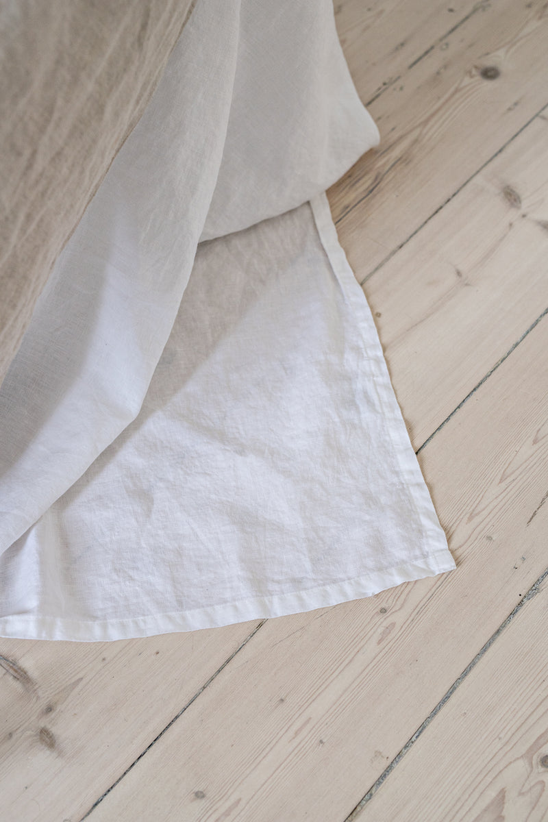 French Linen Sheet Set - White