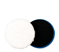 Adam's 4″ Blue Microfibre Cutting Pad – 2 Pack - Adam's Polishes Australia