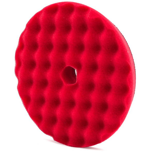 Adam's 5.5″ Red Glazing & Waxing Pad - Adam's Polishes Australia