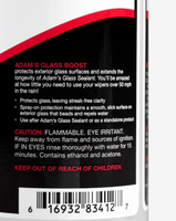 Adam's Glass Boost 8 oz. - Adam's Polishes Australia