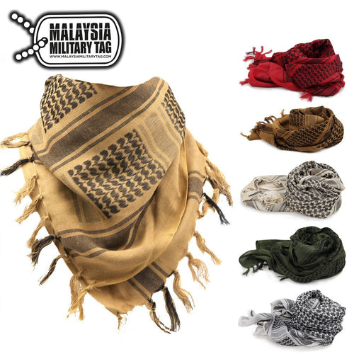 Tactical Desert Shemagh Keffiyeh Scarf(Free Shipping in Malaysia)