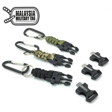 Fire starter paracord keychain(Free Shipping in Malaysia)