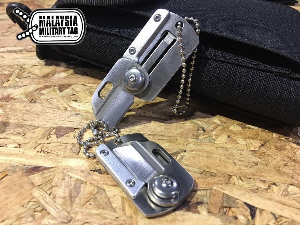 Military Tag Knife