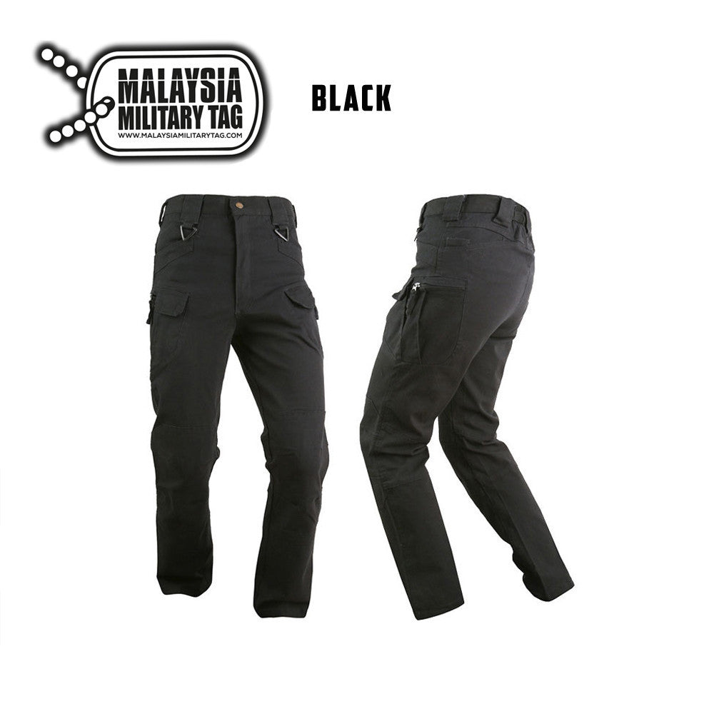 black military ix7 tactical pants