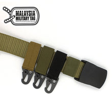 Nylon Velcro Tactical Gear Clip Compatible Molle Hook(Free Shipping in Malaysia)