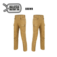 light brown military ix7 tactical pants