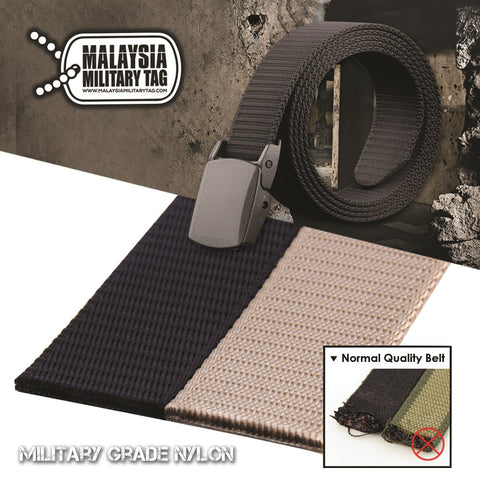 1 Tactical Nylon Belt, Suitable for casual wear, working