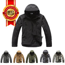 Tad V4.0 Shark Skin Water Resistant Soft Shell Tactical Jacket(Free Shipping in Malaysia)