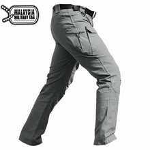 Grey military ix7 tactical pants