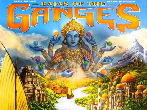 Rajas of the Ganges - настолна игра
