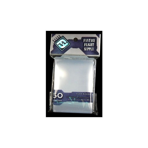 FFG Standard Card Game Sleeves (Clear) - 63.5мм x 88мм
