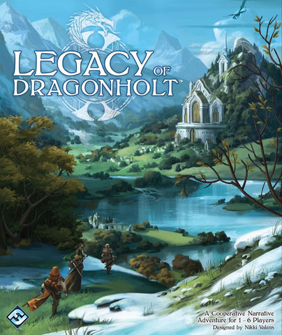 Legacy of Dragonholt - настолна игра