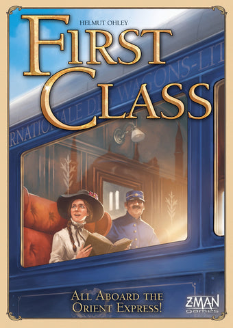 First Class: All Aboard the Orient Express - настолна игра