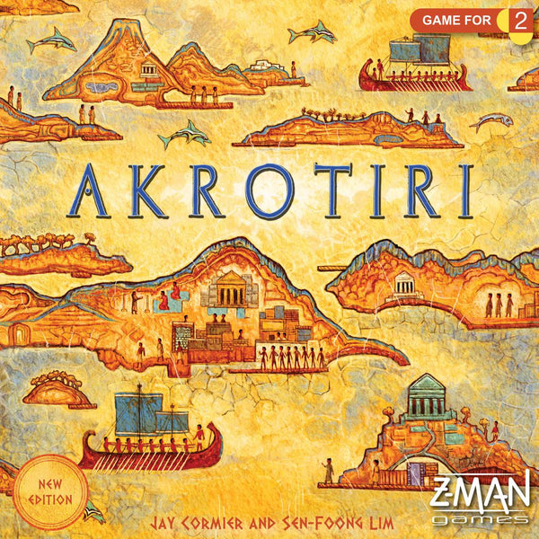 Akrotiri (Revised Edition) - настолна игра