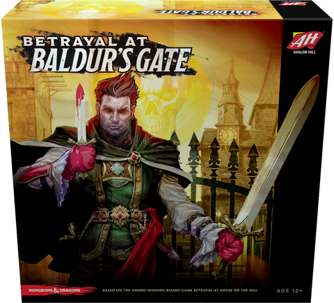 Betrayal at Baldur's Gate - настолна игра