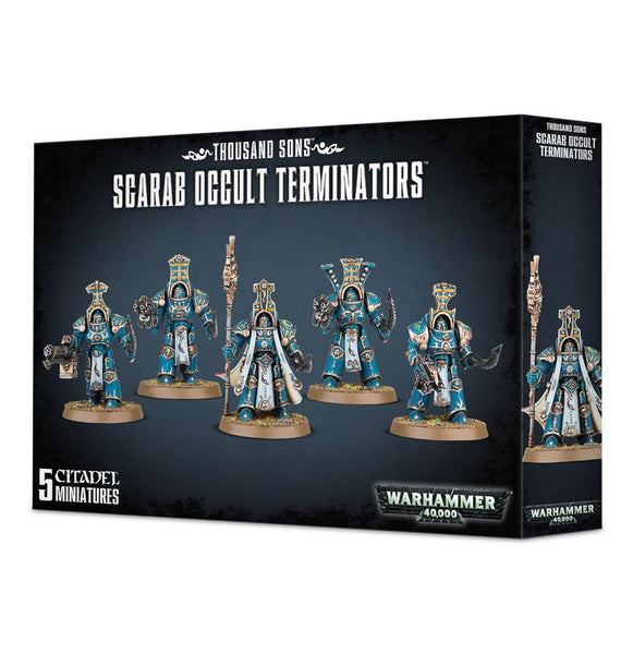 Thousand Sons: Scarab Occult Terminators