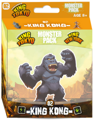 King of Tokyo: Monster Pack - King Kong Expanion