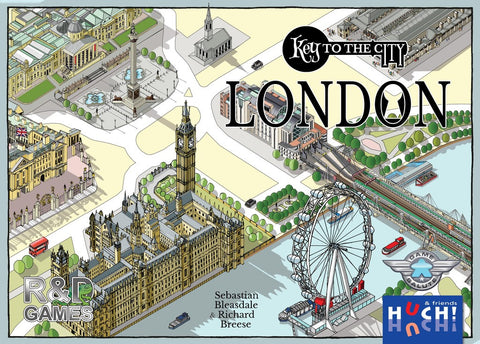 Key to the City: London - настолна игра