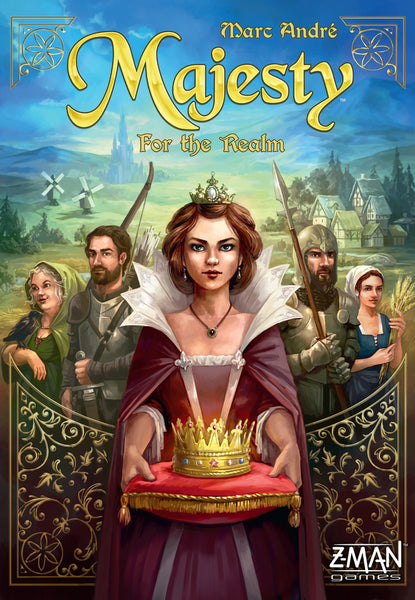 Majesty: For the Realm - настолна игра