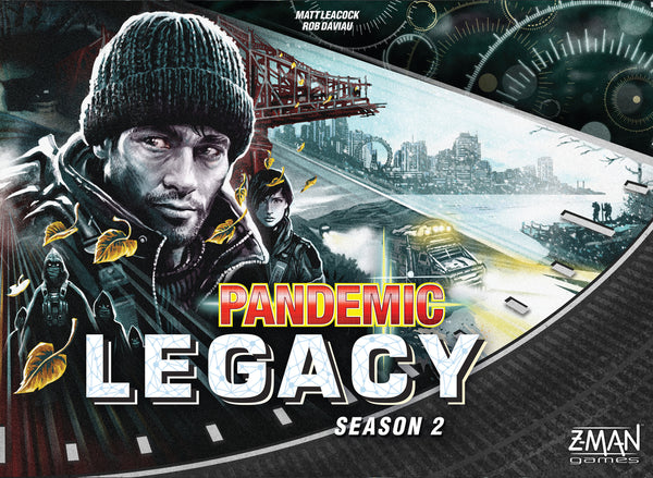 Pandemic Legacy: Season 2 (Black Edition) - настолна игра