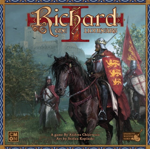 Richard the Lionheart - настолна игра