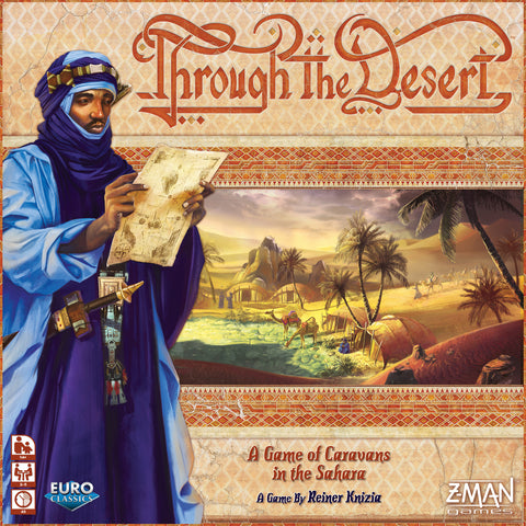 Through the Desert - настолна игра