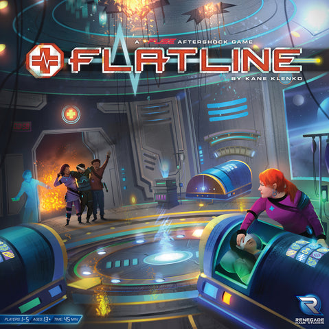 Flatline: A FUSE Aftershock Game - настолна игра
