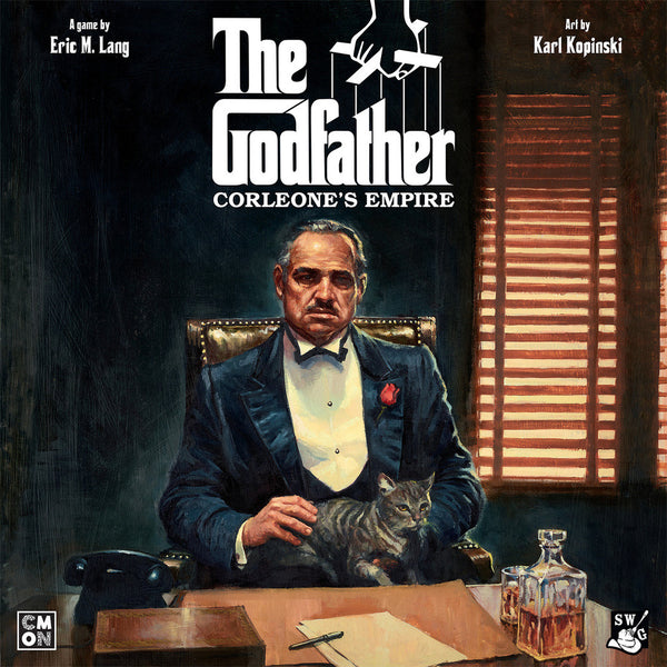 The Godfather: Corleone's Empire - настолна игра