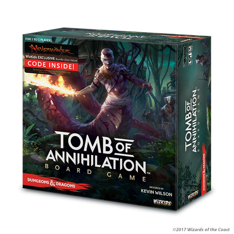 Dungeons & Dragons: Tomb of Annihilation Board Game - настолна игра