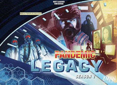 Pandemic Legacy: Season 1 (Blue Edition) - настолна игра