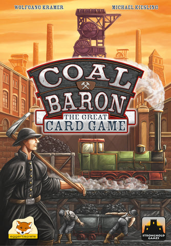 Coal Baron: The Great Card Game - настолна игра - Pikko Games