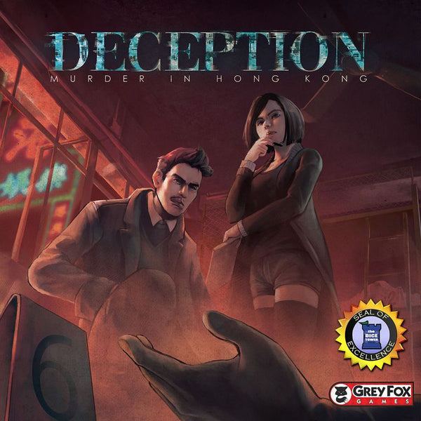 Deception: Murder in Hong Kong - настолна игра