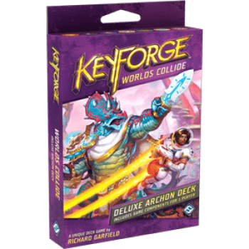 KeyForge: Worlds Collide - Deluxe Deck - Pikko Games