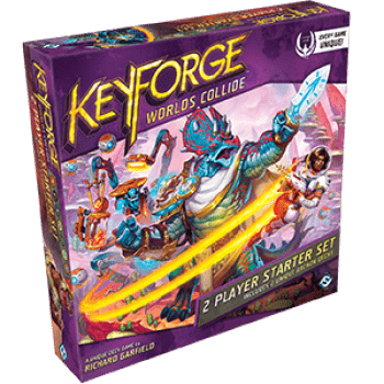 KeyForge Worlds Collide Two-player Starter Set - настолна игра - Pikko Games