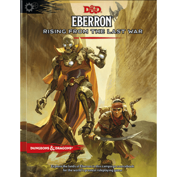 Dungeons & Dragons RPG Eberron: Rising From the Last War Adventure Book - Pikko Games