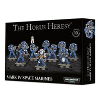 Mark IV Space Marines: Tactical Squad