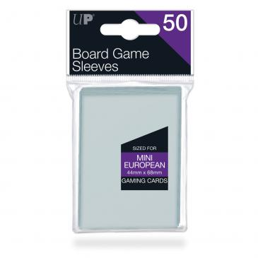44mm X 68mm Mini European Board Game Sleeves 50ct - протектори Ultra Pro