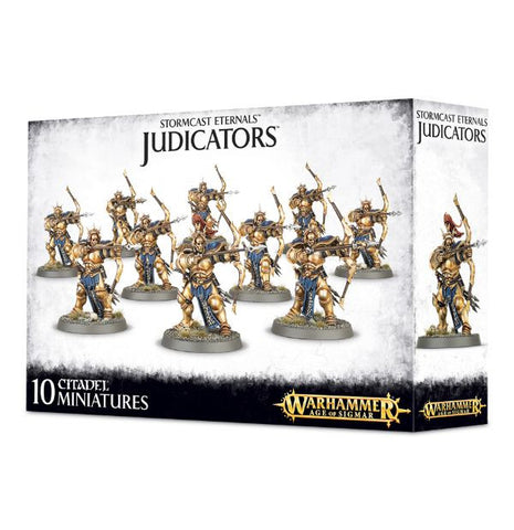 Stormcast Eternals Judicators (10 miniatures)