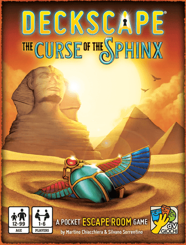 Deckscape: The Curse of Sphinx