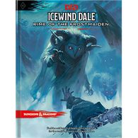DD Icewind Dale: Rime of the Frostmaiden Book - книга