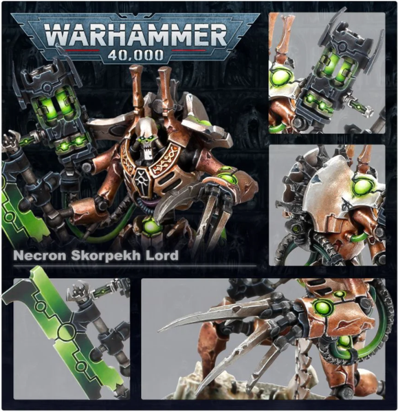 Necrons Royal Court - миниатюри