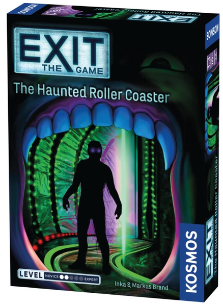Exit - The Haunted Rollercoaster - кооперативна настолна игра