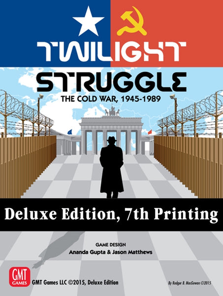 Twilight Struggle Deluxe Edition (7th Printing) - настолна игра
